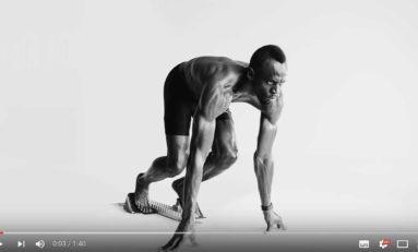 Usain Bolt, le guépard. (pub vidéo)