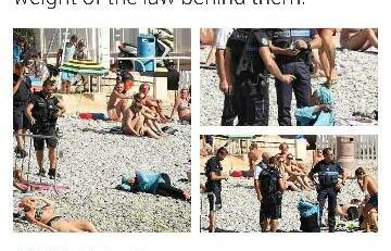 """""""Des hommes armés qui obligent une femme à se déshabiller"""""""