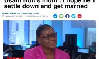 Bon... Usain, tu gagnes le 100m et tu rentres te marier... (lol)