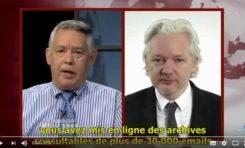 """Julian Assange : """"Hillary Clinton a encouragé la vente d'armes à l'EI"""" (video)"""