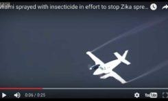 Zika Floride : Des avions déversent des neurotoxiques interdits... (vidéo)