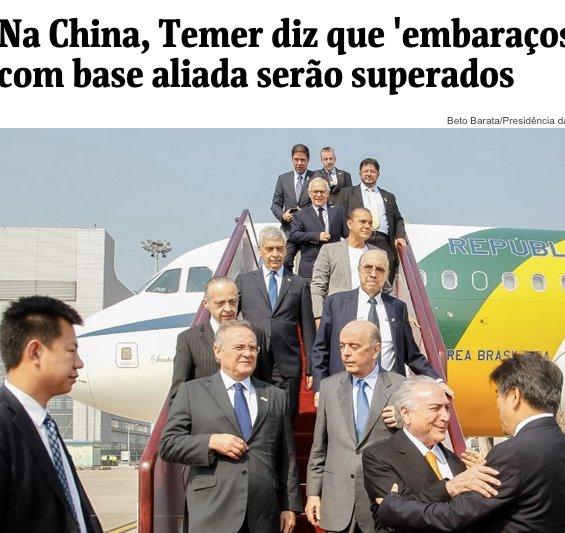 Voici le nouveau gouvernement brésilien…