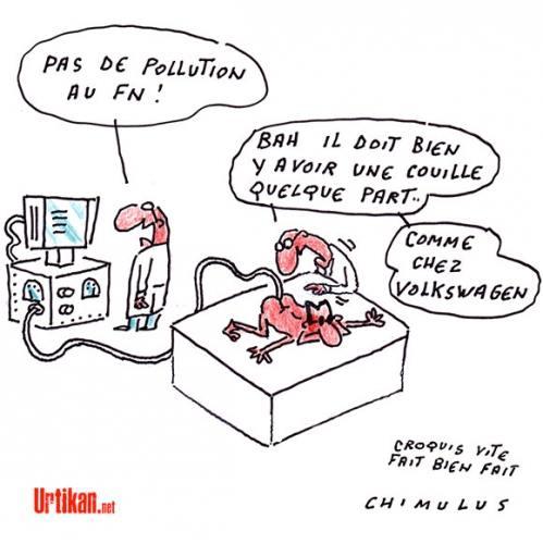 Tests de pollution au FN (lol)