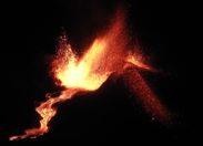 Eruption du volcan Piton de la Fournaise à l'île de La Réunion