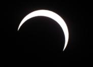 Éclipse annulaire à l'île de La Réunion
