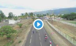 Tour cycliste de l'île de La Réunion le vivre ensemble pédale dans le rougail saucisse (vidéo)