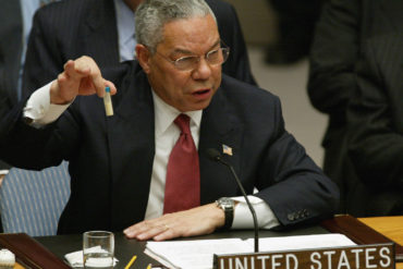 Colin Powell : Hillary Clinton, son mari et ses bimbos