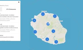 Journées Européennes du Patrimoine : La Réunion. (Carte)