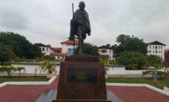 Le Mahatma Gandhi statue non grata au Ghana