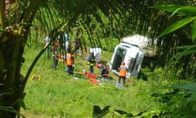 La Martinique tombe du camion