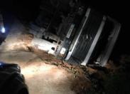 Et voilà...le 9 ème CAMION accidenté en Martinique