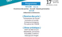 """3ème Edition des """"Trophées des Entrepreneurs AfroCréoles"""""""