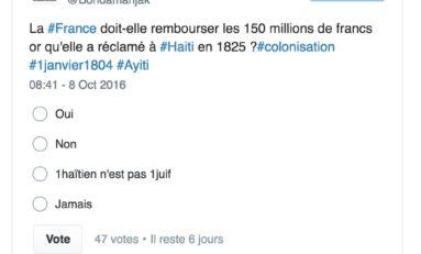 La France doit-elle rembourser Haïti les 21 milliards de $ réclamés en 1825 ?