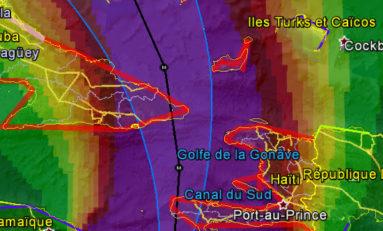 Matthew arrive sur Haïti !