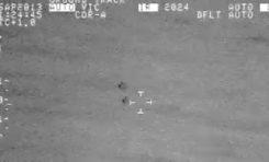 Un OVNI filmé par un avion de l'armée US à Puerto Rico (vidéo)