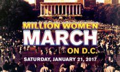 Les femmes vont marcher sur Washington en Janvier 2017