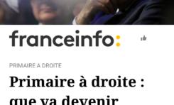 Victoire de François Fillon : grand moment de solitude à France Info