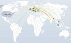 La carte mondiale des cyber-attaques (en live)