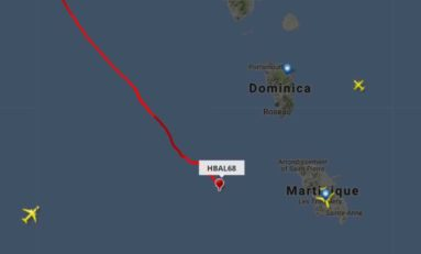 Un ballon de Google pas loin de la Martinique
