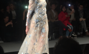 Fashion week défilé Ziad NAKAD