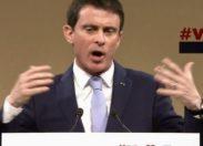 """Primaire à gauche, Valls toujours pris à partie mais """"c'est rien comparé à la gifle """" .."""