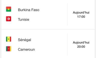 La gazette de la CAN, un bel après-midi en perspective. La Tunisie favorite et le duel des Lions... avec  un Sénégal – Cameroun en quart de finale sur un fond de rivalité qui date !