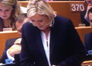 Marinegate: FN  vs OLAF Marine Le Pen veut porter plainte contre l'Office européen de lutte antifraude (Olaf).