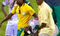 CAN 2017 : le Burkina  Faso, le Cameroun en demi-finales et  les pleurs de Sadio Mané, inconsolable après son échec avec le Sénégal.