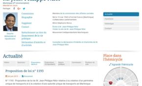 BILAN EN TROMPE L'OEIL D'UN DÉPUTÉ IMPOSTEUR