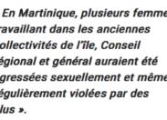 VIOLS ET AGRESSIONS SEXUELLES EN MARTINIQUE