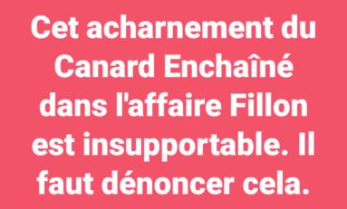 La phrase du jour [08/02/17] Canard Enchaîné