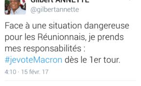 Macron...La Réunion de circonstance