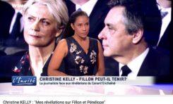 Christine Kelly revient sur l'affaire Pénélope Fillon et les menaces (vidéo)