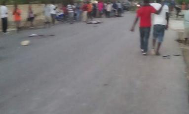 Haïti : un autobus fonce dans une foule, 34 morts et 15 blessés