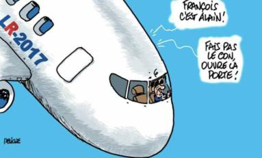 Cette volonté  de voler noue l'avion