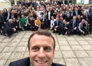 Macron 1er, so white...
