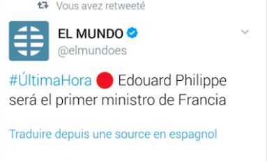 La surprise du jour - France - Edouard Philippe