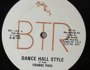 Frankie « DanceHall » Paul is Dead