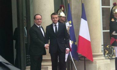 L'image du jour 14/05/17 France - Macron - Hollande