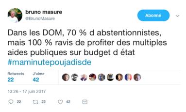 Le tweet du jour 17/06/17 Bruno Masure