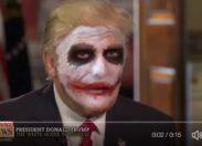 Trump sans son maquillage, Joker !... 😂 (vidéo)