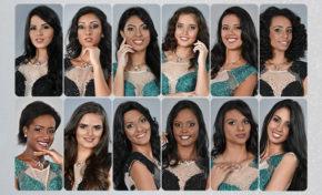 Miss Réunion 2017 : les douze finalistes