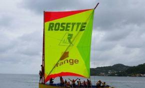 Yole ronde de Martinique Ets Rosette /Orange remporte le Championnat 2017