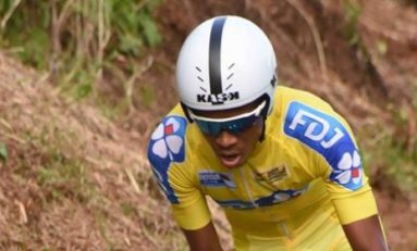 Qui est en jaune et qui roule ?...Yolan Sylvestre