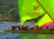 L'image du jour 05/07/17 Martinique Tour des yoles -Rosette/Orange