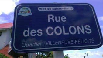 L'image du jour 21/08/17 - Rue des colons - Sainte-Marie -Martinique