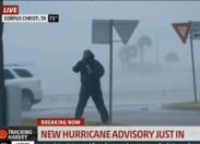 Le cyclone Harvey en direct à la télé (direct)