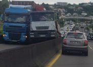 Quand le cas camion fout la merde en Martinique