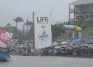 Tour de la Martinique des yoles rondes : UFR/Chanflor en mode remontada