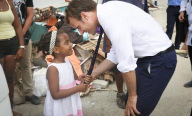 L'image du jour 13/09/17 - Saint Martin - Macron